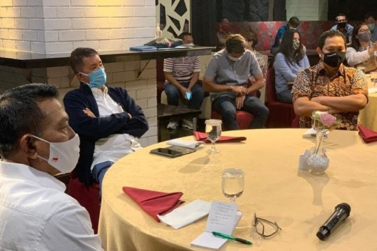 Legenda Bulu tangkis Indonesia Pinang Moeldoko Jadi Ketum PBSI