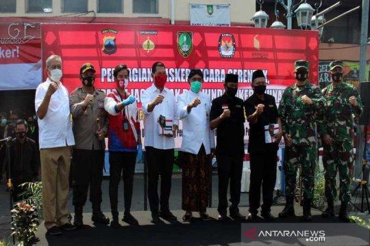 Wali Kota Surakarta: Penegakan pakai masker berlaku tanpa terkecuali