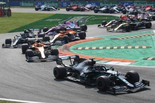 Monza akan gelar sprint race kedua di F1 musim ini