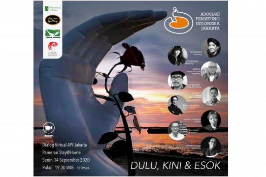 """Asosiasi Pematung Indonesia buat pameran """"Stay@Home 2020"""""""