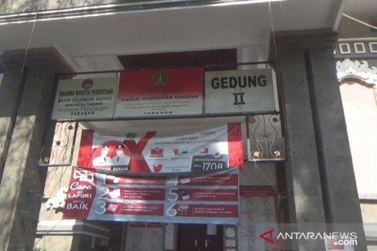 Kantor Badan Keuangan Tabanan tutup karena dua ASN tertular COVID-19