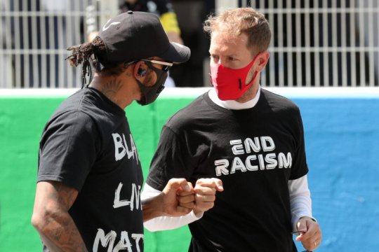 F1 masih butuh Vettel, kata Hamilton