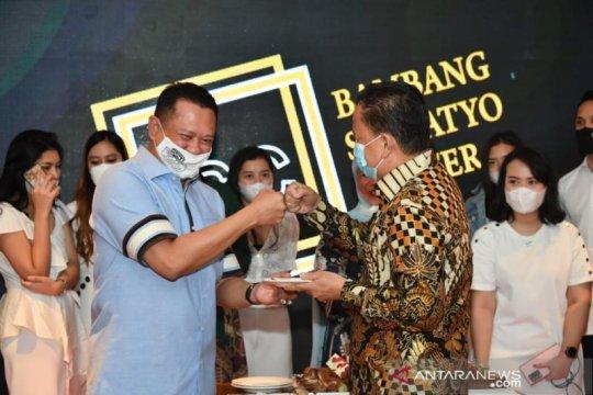 Ketua MPR bentuk Bamsoet Center kontribusi lahirkan ide kebangsaan