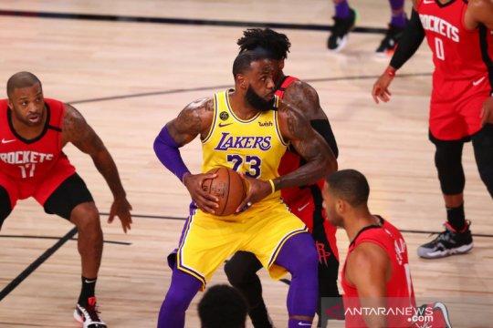Lakers benamkan Rockets, selangkah lagi menuju final wilayah