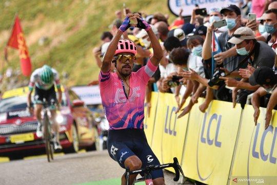 Dani Martinez catatkan kemenangan etape pertamanya di Tour de France