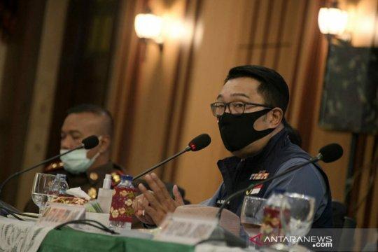 Gubernur Jabar sarankan Anies konsultasi ke pusat terkait PSBB total