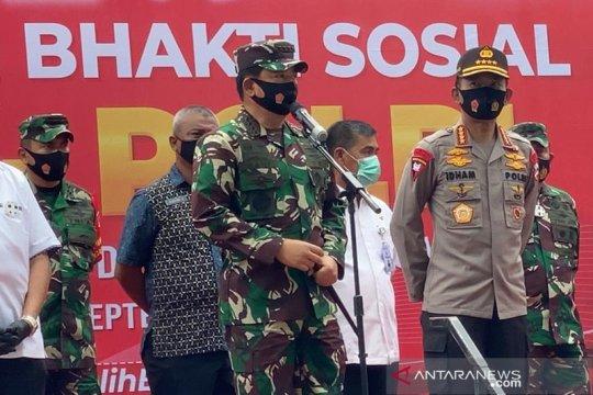 Panglima TNI-Kapolri lepas Satgas Pendisiplinan di Palu