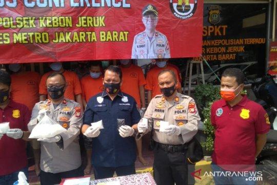 Polisi gagalkan peredaran sabu senilai Rp1,8 miliar di Kebon Jeruk