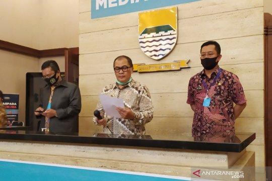 Meski kasus COVID-19 melonjak, Kota Bandung masih zona oranye
