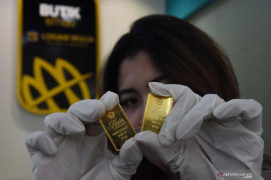 Harga Emas naik 2,7 dolar di tengah ketidakpastian stimulus  AS