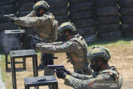Quick response team batalyon intai amfibi 2 Marinir