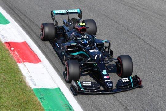 Bottas ungguli Verstappen dalam sesi latihan pertama GP Tuscan