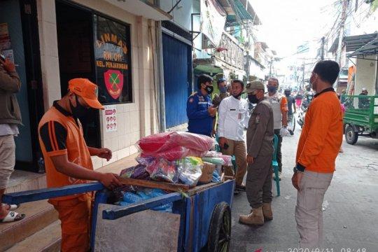 300 paket makanan disalurkan untuk korban kebakaran Pasar Ciplur