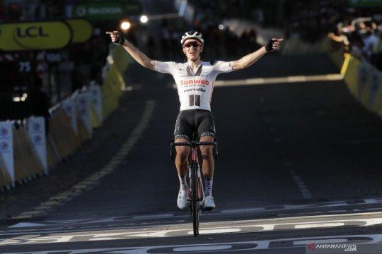 Kragh Andersen jadi yang tercepat pada etape 14 Tour de France