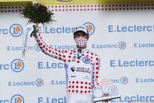 Klasemen sementara Tour de France setelah etape ke-14