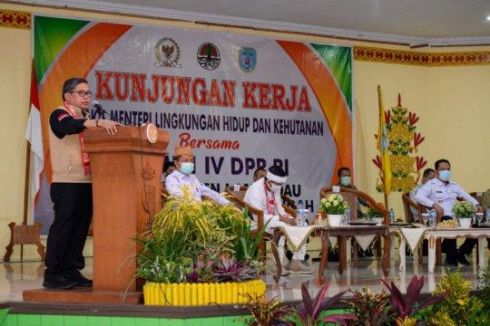 Wakil Menteri LHK tawarkan solusi konflik lahan di Kinipan