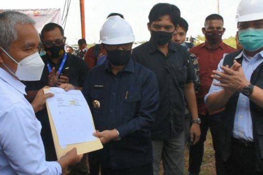 Bukit Asam kembali bangun dua gedung olahraga di Sumatera Selatan