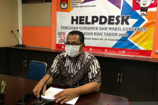 KPU: Isdianto-Suryani belum lengkapi syarat pencalonan Pilkada Kepri
