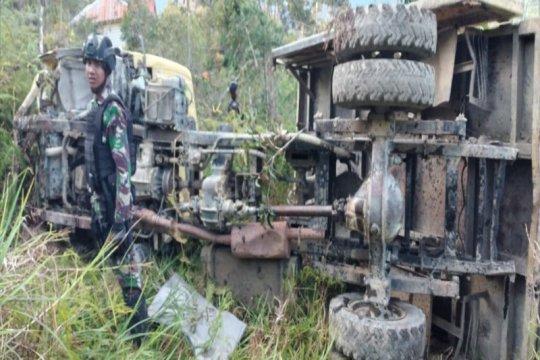 Dua helikopter TNI dikerahkan evakuasi korban kecelakaan di Sugapa
