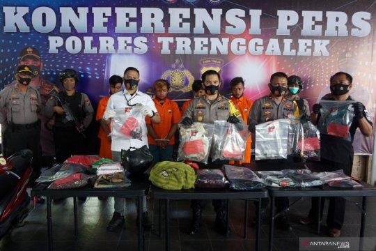 Polisi tangkap pelaku teror bom molotov di Trenggalek