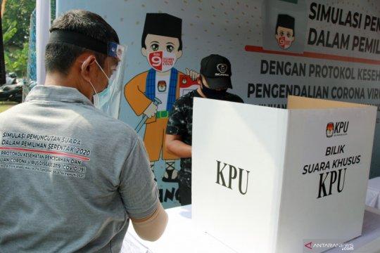 KPU siapkan 5.477 bilik suara antisipasi COVID-19 di Sumsel