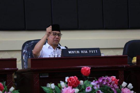 Menteri Desa imbau sisa dana desa digunakan program padat karya tunai