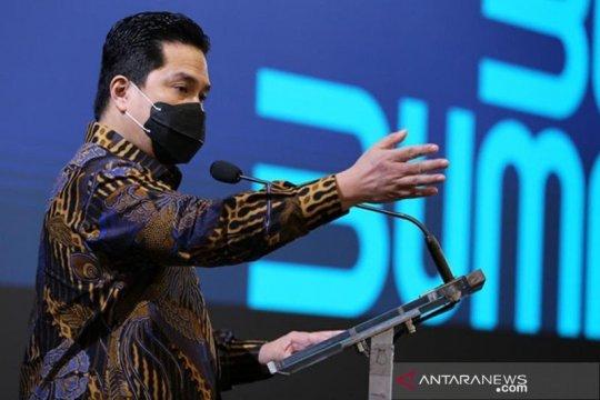 Erick Thohir: Harus optimistis Indonesia bisa keluar dari krisis