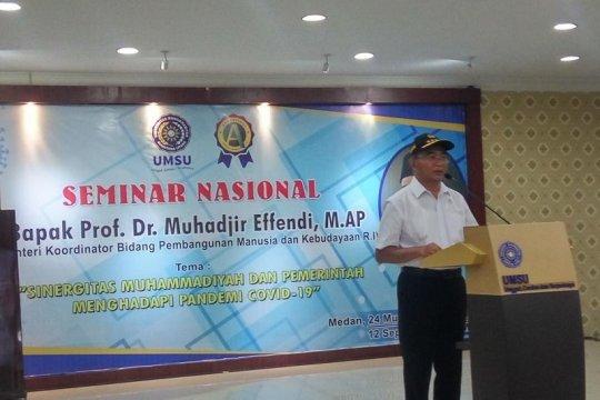 Menteri PMK: Kesadaran masyarakat Medan pakai masker masih rendah