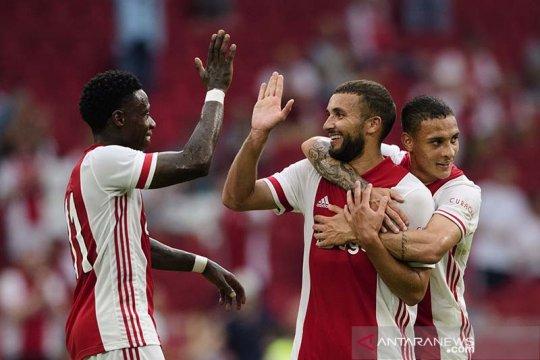 10 pemain Ajax kantungi tiga poin penuh dari markas Sparta Rotterdam