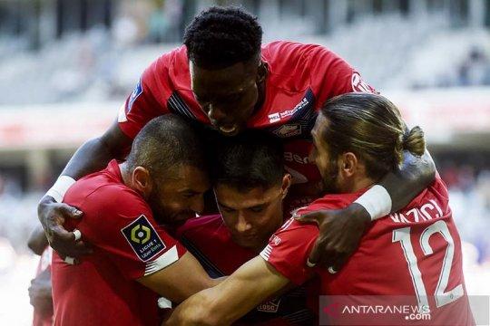Gol menit akhir Luiz Araujo bawa Lille amankan tiga poin dari Metz