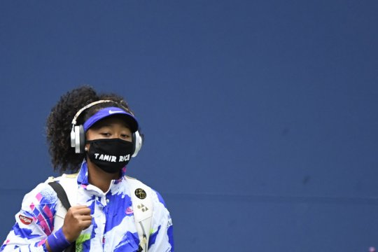 Masker tujuh nama yang dikenakan Naomi Osaka