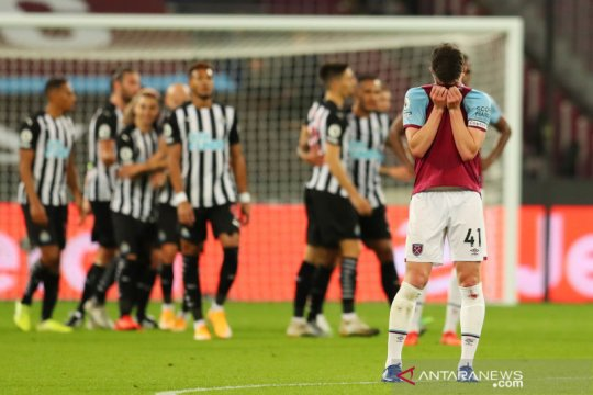 West Ham takluk 0-2 dari Newcastle United