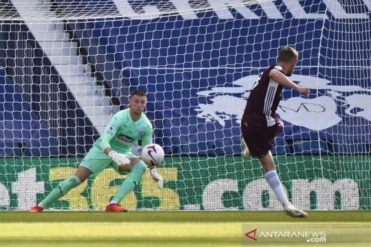 Tiga gol Leicester sambut kembalinya West Brom ke Liga Premier