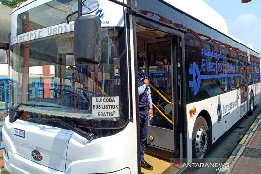 TransJakarta-Bakrie akui puas dengan hasil uji coba bus listrik