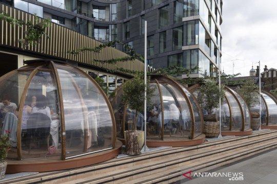 Restoran di London sediakan 'kapsul' khusus untuk pelanggan