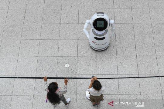 Jerman gunakan robot pintar untuk sosialisasi pencegahan COVID-19
