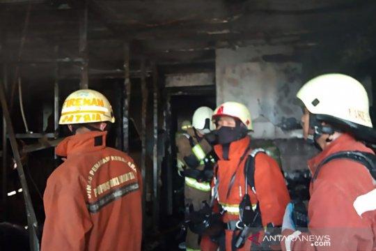 Kebakaran di Apartemen Sentral Timur akibat puntung rokok