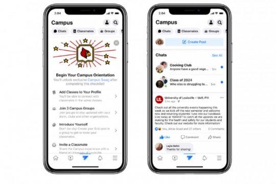 Facebook punya Facebook Campus, ini tiga fitur utama