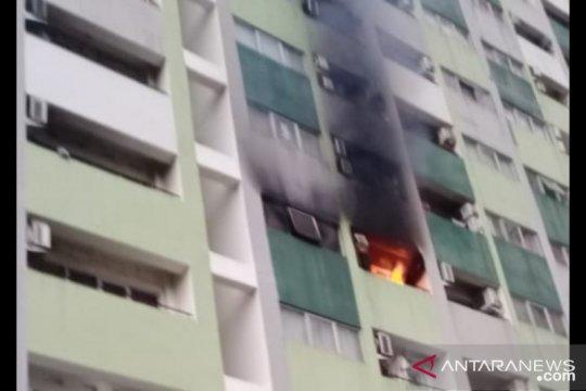 Terjadi kebakaran di Apartemen Central Timur