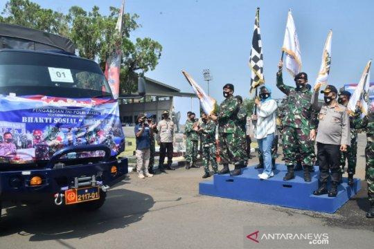 Altar 89 bagikan 12 ribu sembako warga terdampak pandemi di Bogor