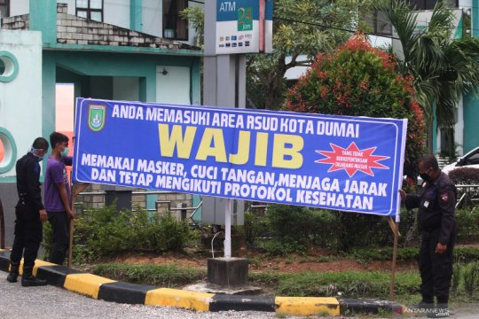 Satgas belum beri izin, Kota Dumai-Riau belum buka kelas tatap muka