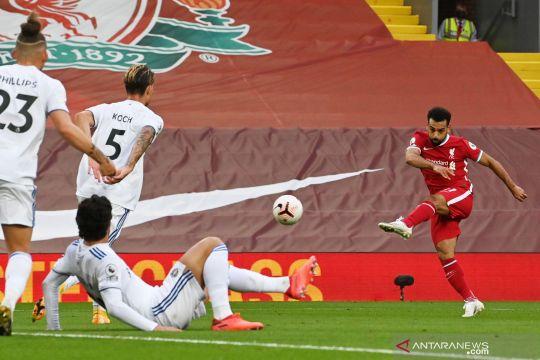 Gol penalti Salah menangkan Liverpool atas Leeds United