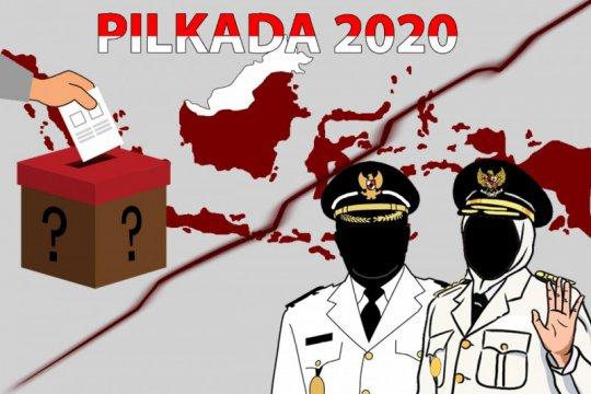 KPU Kabupaten Kediri pastikan satu pasangan calon daftar pilkada