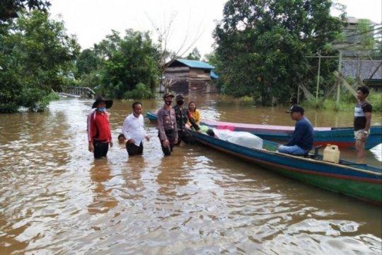Banjir di Kotawaringin Timur  meluas merendam tiga kecamatan