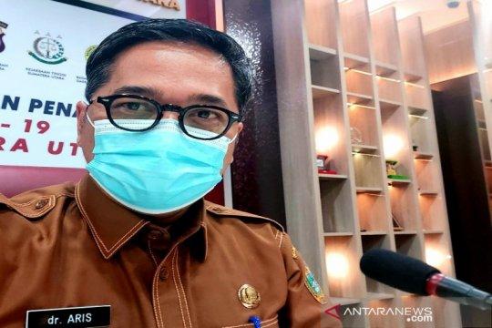 Jumlah pasien terkonfirmasi COVID-19 di Sumut sudah 8.559 orang