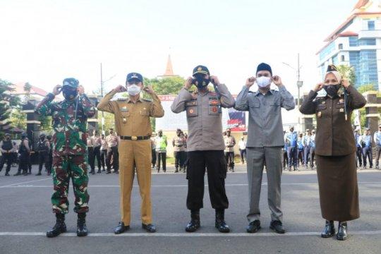 Makassar mulai terapkan operasi yustisi penegakan protokol COVID-19