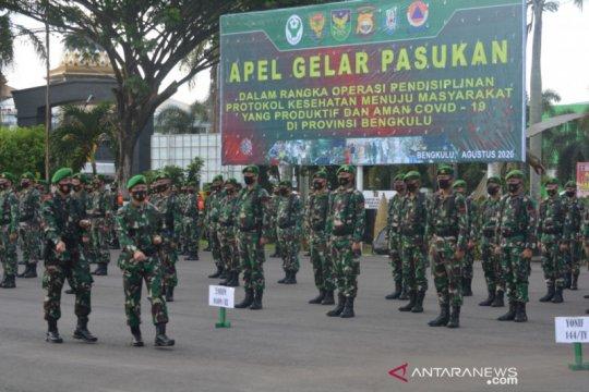 Operasi disiplin protokol kesehatan, Korem 041 kerahkan 816 prajurit