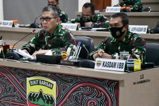 Kodam I Bukit Barisan siap laksanakan operasi penanganan COVID-19