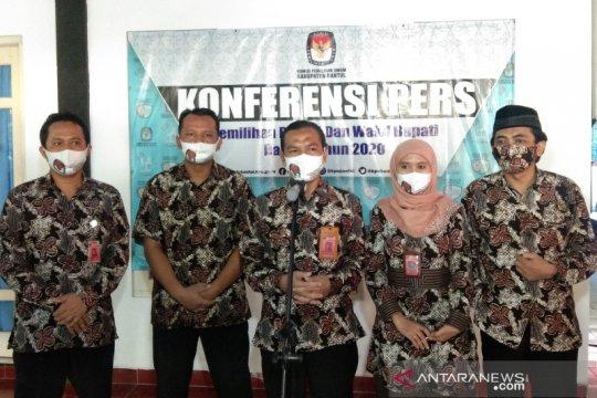 KPU: Dua bakal paslon Pilkada Bantul memenuhi syarat kesehatan