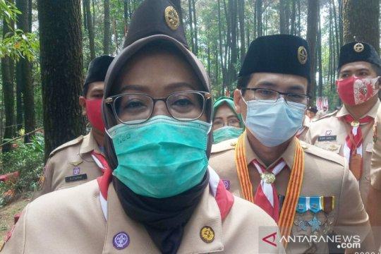 Bupati Bogor : Stasiun dan terminal sepi hari pertama PSBB total DKI